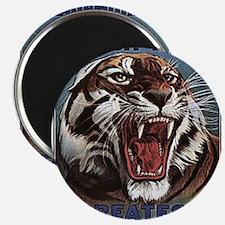 Vintage Circus Tiger Magnet