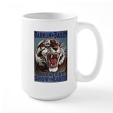Vintage Circus Tiger Mug