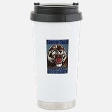 Vintage Circus Tiger Travel Mug