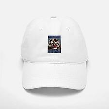 Vintage Circus Tiger Baseball Baseball Cap