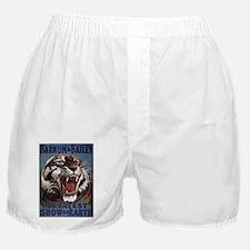 Vintage Circus Tiger Boxer Shorts