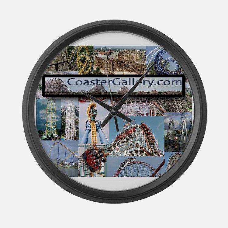 Cute Roller Large Wall Clock