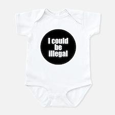 Cute Immigration Infant Bodysuit
