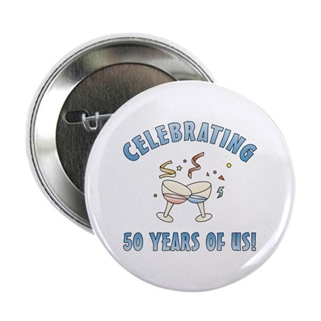 """50th Anniversary Party 2.25"""" Button (10 pack)"""