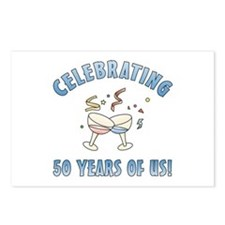 50th Anniversary Party Postcards (Package of 8)