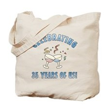 35th Anniversary Party Tote Bag