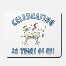 30th Anniversary Party Mousepad