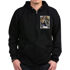 UNLEASH THE DEMONS Zip Hoodie
