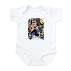 UNLEASH THE DEMONS Infant Bodysuit