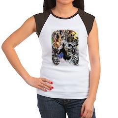 UNLEASH THE DEMONS Women's Cap Sleeve T-Shirt