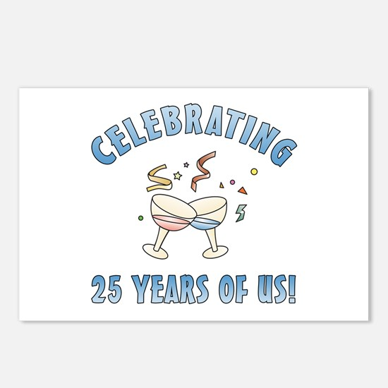 25th Anniversary Party Postcards (Package of 8)