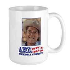 Ronald Reagan America Needs a Cowboy Mug