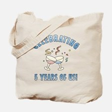 5th Anniversary Party Tote Bag