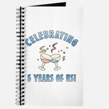5th Anniversary Party Journal