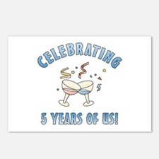 5th Anniversary Party Postcards (Package of 8)