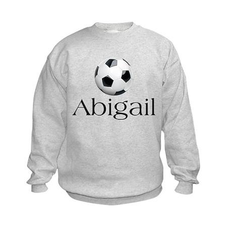 Abigail Soccer Kids Sweatshirt