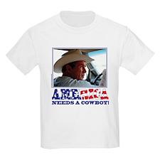BUSH - America Needs a Cowboy T-Shirt