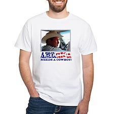 BUSH - America Needs a Cowboy Shirt