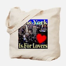 New York Is For Lovers Tote Bag