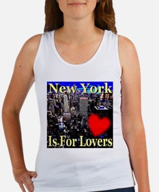 New York Is For Lovers Women's Tank Top