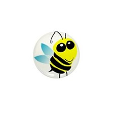 Honey Bee Mini Button (10 pack)