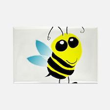 Honey Bee Rectangle Magnet (10 pack)