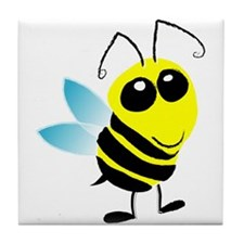 Honey Bee Tile Coaster