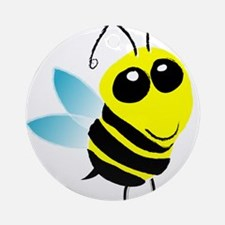 Honey Bee Ornament (Round)
