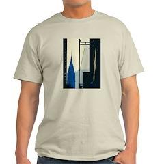 New York Blue Ash Grey T-Shirt