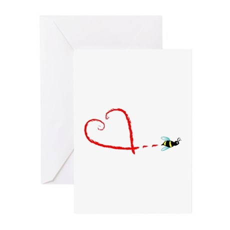 Love Bee Greeting Cards (Pk of 10)