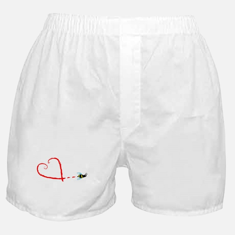 Love Bee Boxer Shorts