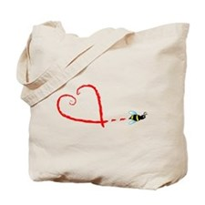 Love Bee Tote Bag