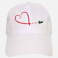 Love Bee Baseball Baseball Cap