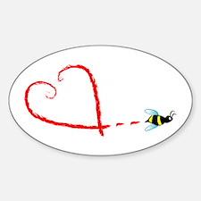 Love Bee Decal