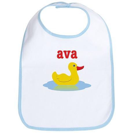 Ava's rubber ducky Bib