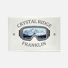 Crystal Ridge - Franklin - Wisconsin Magnets