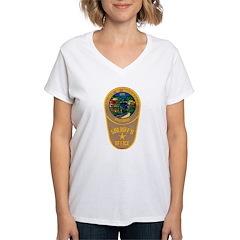 Rockbridge County Sheriff Women's V-Neck T-Shirt
