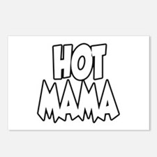 Hot Mama Postcards (Package of 8)