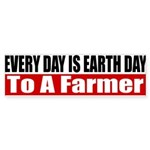 Every Day Is Earth Day Sticker (Bumper 10 pk)