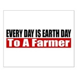Every Day Is Earth Day Small Poster