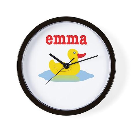 Emma's Rubber Ducky Wall Clock