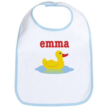Emma's Rubber Ducky Bib