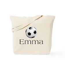 Emma Soccer Tote Bag