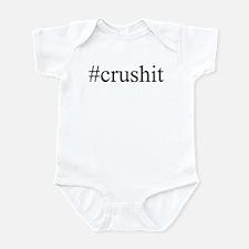 #crushit Infant Bodysuit
