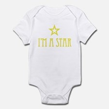 CRAZYFISH kids star Infant Bodysuit