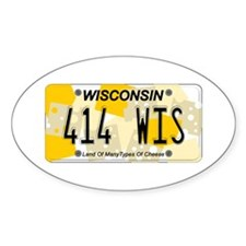 WI Cheese Decal