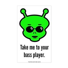 Alien Bass Decal