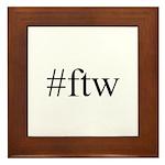 #ftw Framed Tile
