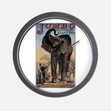 Vintage Circus Elephant Wall Clock