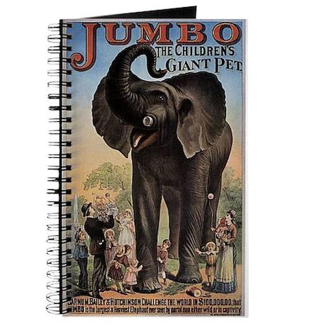 Vintage Circus Elephant Journal